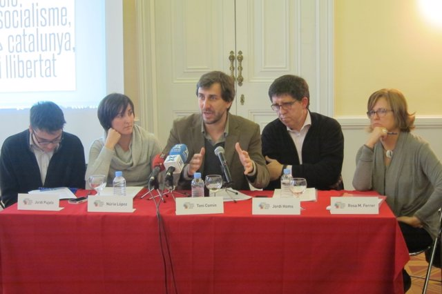 Presentación de 'Socialisme, Catalunya i Llibertat'