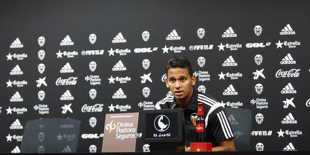 Filipe Augusto, jugador del Valencia CF