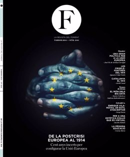 Primer número de la revista  'F. La revista del Fomento' de Fomento del Trabajo