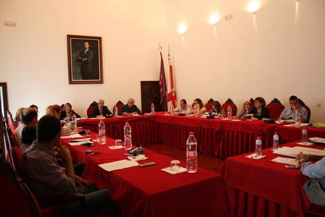 Pleno del Ayuntamiento de Baeza (Jaén)