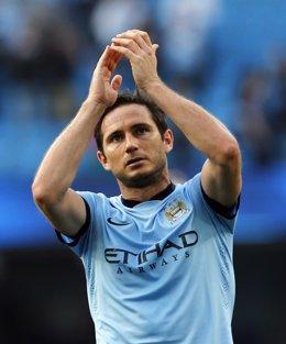 Frank Lampard con el Manchester City
