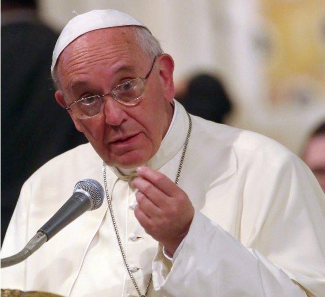 Papa Francisco se opone a las drogas