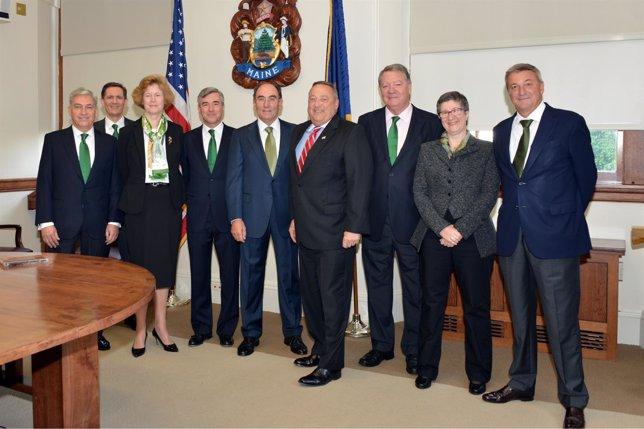Reunión de la Comisión Ejecutiva Delegada de Iberdrola en Estados Unidos