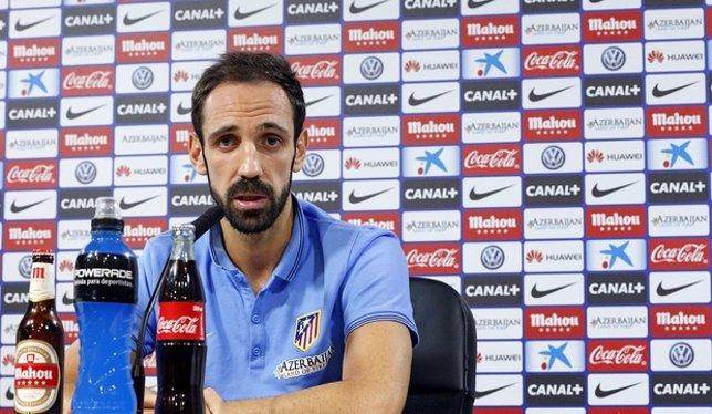 El lateral derecho del Atlético de Madrid Juanfran Torres