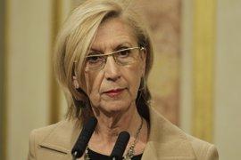 Rosa Díez pide al Congreso que se persone ante el TC y no descarta denunciar a Artur Mas por malversación