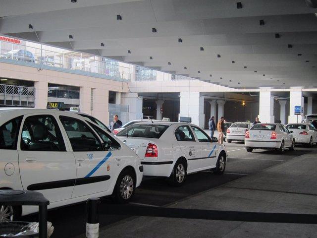 Taxis en el aeropuerto Málaga-Costa del Sol