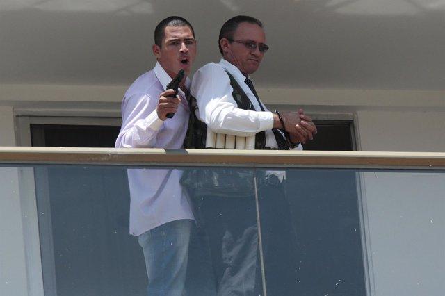 Secuestrador en el hotel Saint Peter