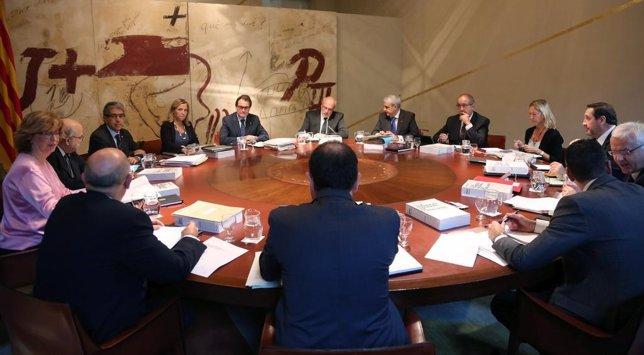 Gobierno de la Generalitat de Catalunya (Consell Executiu) Artur Mas, consellers