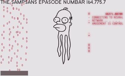 La intro más rara de Los Simpson, por Don Hertzfeldt
