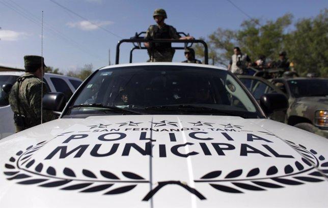 Policía Municipal mexicana de Tamaulipas