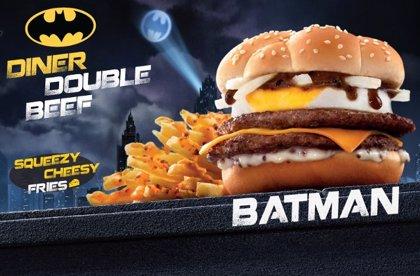 McDonalds lanza la BatBurger, la hamburguesa Batman