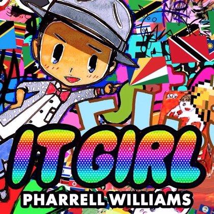 Pharrell Williams se convierte en un dibujo animado