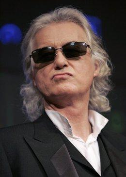 El guitarrista Jimmy Page de Led Zeppelin