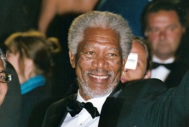 Morgan Freeman en el festival de Cannes