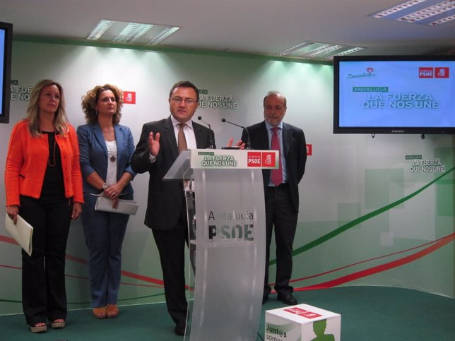 Heredia, Serrano, Jímenez, Torres Mora PSOE
