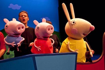 CANTABRIA.-Sustitución.- El musical 'Peppa Pig' llega este fin de semana al Palacio de Festivales con tres funciones