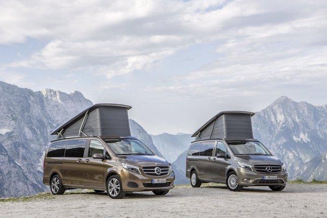 Mercedes Benz presenta el nuevo Marco Polo