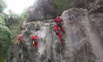 El Consorcio Provincial de Bomberos de Málaga crea la Unidad de Rescate en Montaña