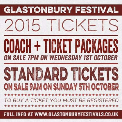 El Festival de Glastonbury despacha 15.000 entradas en 14 minutos
