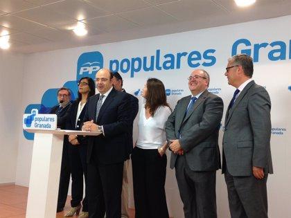 """Pérez (PP) cree que las cuentas son las """"mejores"""" para Granada e inician un camino """"sin marcha atrás"""""""