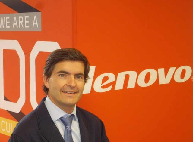 Juan Chinchilla, director general de Lenovo Iberia