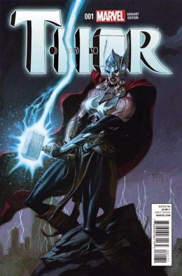 Portada de Thor (versión mujer)