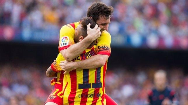 Neymar y Messi tumban al Athletic