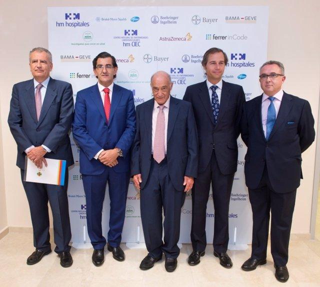 2014 10 02 De Izda. A Dcha. Juan Carlos Domínguez Nafría, Dr. Abarca Cidón, Dr.