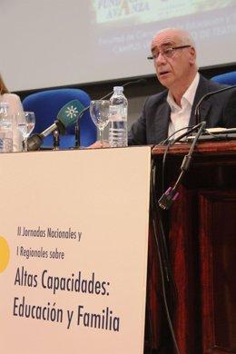 Luciano Alonso, consejero de Educación, Cultura y Deporte