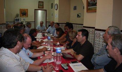 Durán anima a los socialistas a trabajar para recuperar el gobierno de la Diputación