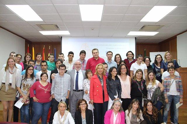 Acto de bienvenida a los estudiantes del Programa CAPACITAS