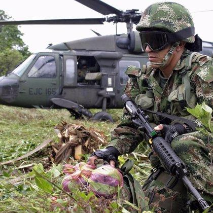 Muere un militar en un enfrentamiento con las FARC