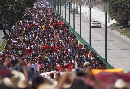 Protestas por la desaparición de 44 estudiantes en México