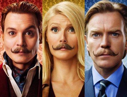 Nuevos y bigotudos pósters de Mortdecai