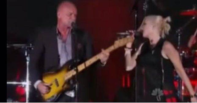 Sting y Gwen Stefani