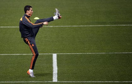 Cristiano Ronaldo vuelve a entrenar al margen de sus compañeros