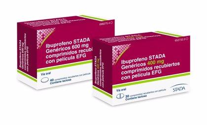STADA lanza 'Ibuprofeno STADA Genéricos EFG' con un formato de comprimidos que facilita la toma de medicación
