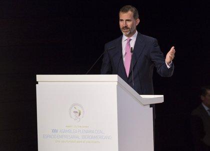 Felipe VI defiende una relación más equilibrada entre España y América Latina
