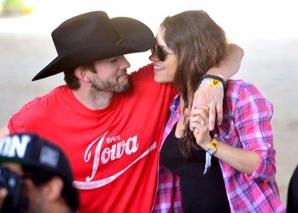 La hija de Ashton Kutcher y Mila Kunis se llamará Wyatt Isabelle