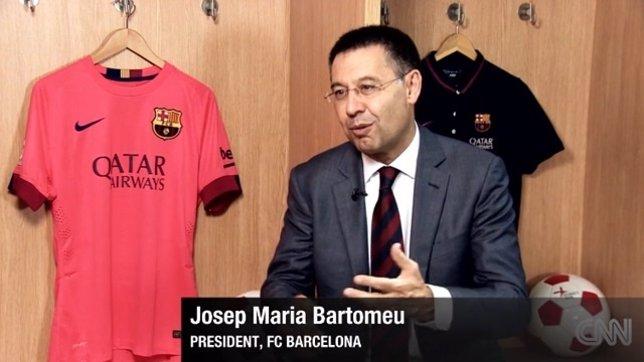Josep Maria Bartomeu Barcelona CNN