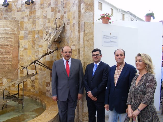 Inauguración Fuente del Vino Cádiar