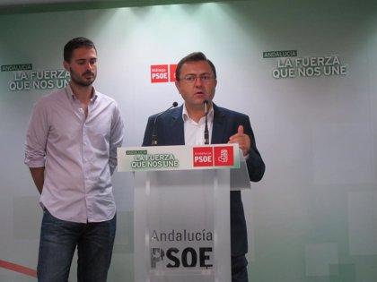 """PSOE-A exige a Moreno """"retirar sus acusaciones o demostrarlas ante un juez"""""""
