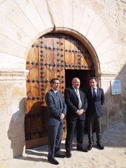 Inauguración restauración iglesia en Luco  de Jiloca.