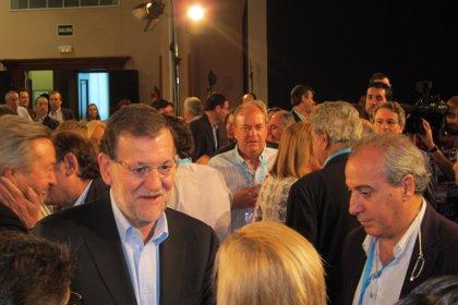 """Rajoy destaca que PP """"solo ha tenido una oportunidad de gobernar"""" en C-LM y la diferencia con el PSOE """"salta a la vista"""""""