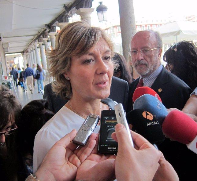 Isabel García Tejerina en el Día de la Provincia de Valladolid