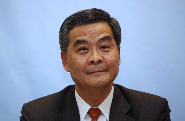 El gobernador de Hong Kong, Leung Chun Ying