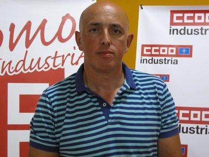 Rubén García será el nuevo secretario general de la sección sindical de CCOO en Hunosa