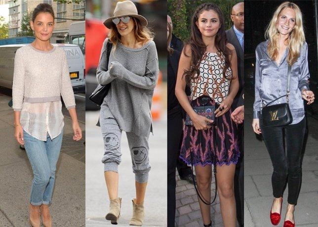 Vip style las famosas lucen sus mejores look en el comienzo del otoño