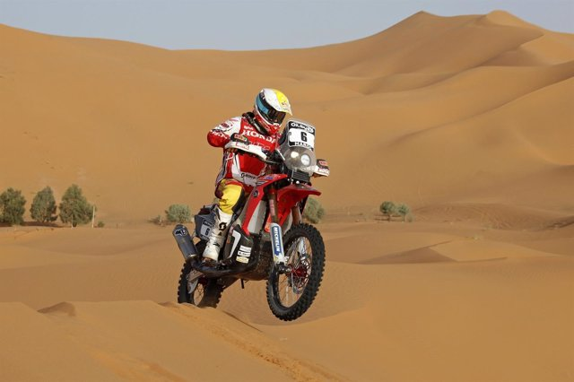 Joan Barreda Honda Rally Marruecos