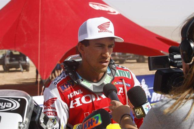 Joan Barreda Rally Marruecos